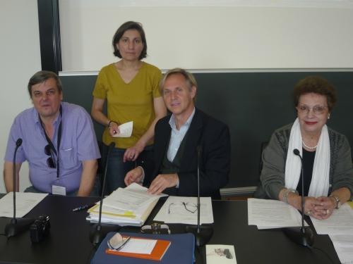 Efi, Brane, Anne-Calude and Marek