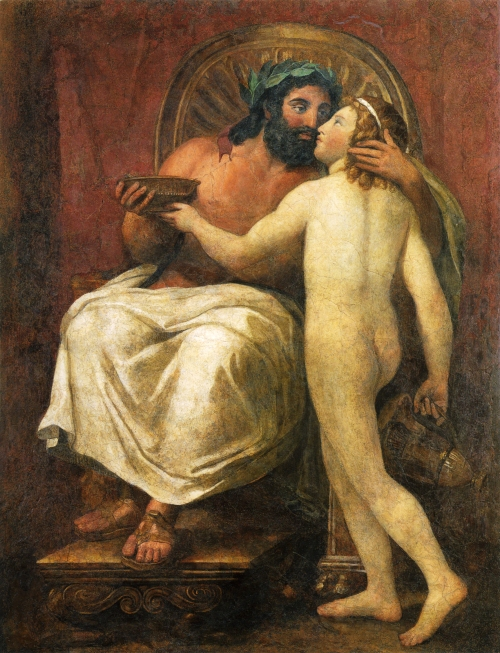 Mengs,_Jupiter_küsst_Ganymed